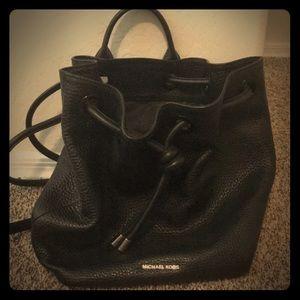 Michael Kors bucket backpack purse!